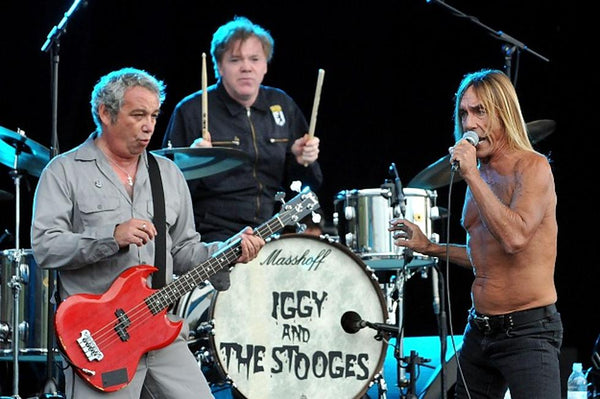 2010 Brian Michael EB-P- MIKE WATT Red Flame Bass Iggy & The Stooges