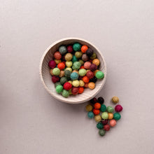 Load image into Gallery viewer, Mini Felt Balls - Autumn