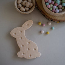 Load image into Gallery viewer, Wooden Bunny - Fine Motor Board