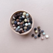 Load image into Gallery viewer, Mini Felt Balls - Earth