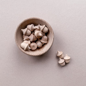 Wooden Acorns - Loose Part Play