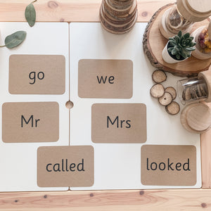 Tricky Word Flashcards - Sight Word Flashcards
