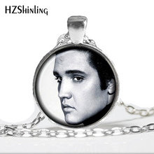 Load image into Gallery viewer, NS-00488 New Fashion Elvis Presley Pendant Elvis Presley Necklace Rock Singer Jewelry Glass Necklaces Pendants Music HZ1 - Stuff Mart Canada