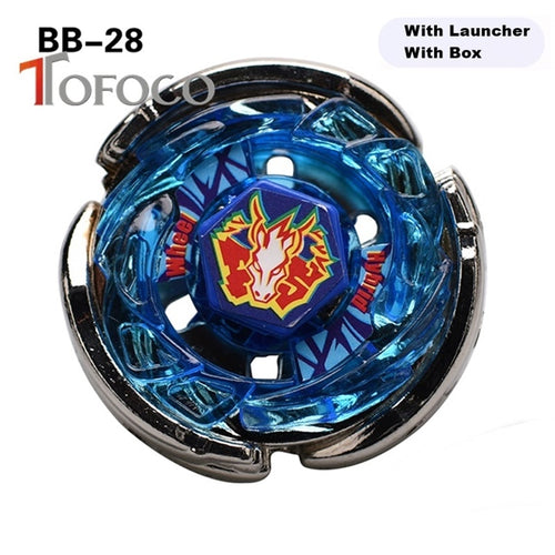 TOFOCO BB-28 4D Toupie Beyblade Pegasus Set Toys For Sale Metal Fusions Beyblade Spinning Top Burst For Boy Kids Fight Launcher