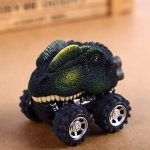 Children's Day Gift Toy Dinosaur Model Mini Toy Car Back Of The Car Gift - Stuff Mart Canada