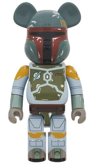 BEARBRICK 1000% BOBA FETT Fashion Toy PVC Action Figure Collectible Model Toy Decoration