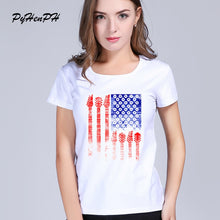 Load image into Gallery viewer, PyHenPH Brand Country Music Design  t-shirt Short sleeve Cool Slim white  tee shirt femme women tees tops  PH0185 - Stuff Mart Canada