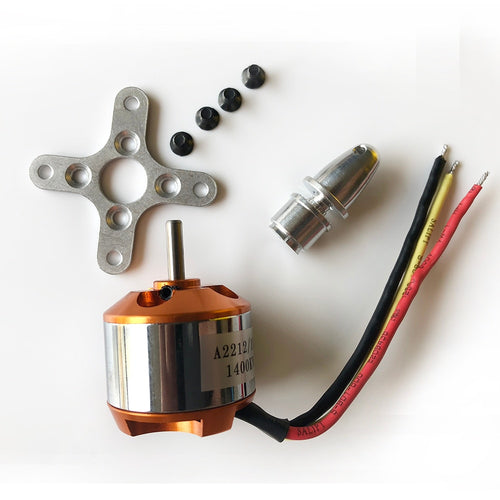 1 Piece A2212 930KV 1000KV 1400KV 2200KV 2450KV Brushless Motor for RC Quad rotor Multicopter Aircraft Drone motor