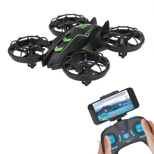 0.3MP FPV WIFI 2.4G JXD 515W Mini Camera Drone RC Aircraft Plane Warcraft with Altitude Hold (Built-in USB Battery)