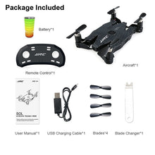 Load image into Gallery viewer, JJR/C JJRC H49 SOL Ultrathin Wifi FPV Selfie Drone 720P Camera Auto Foldable Arm Altitude Hold RC Quadcopter VS H37 H47 E57