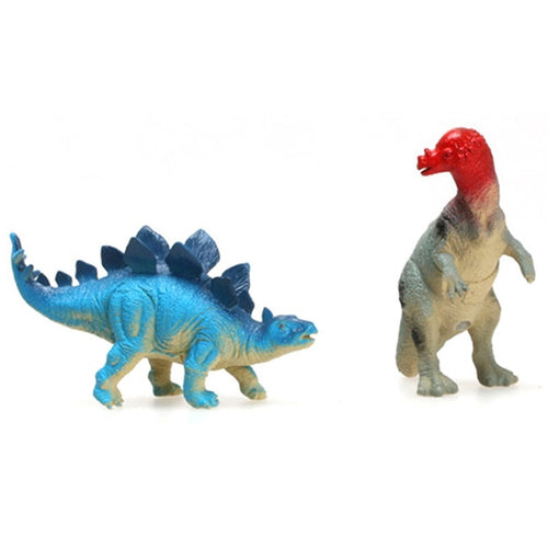 1 pc  New Simulation Sound Dinosaur Model Toys 12 Plastic Ornaments Jurassic Dinosaur Model Dinosaurs  Color Random - Stuff Mart Canada
