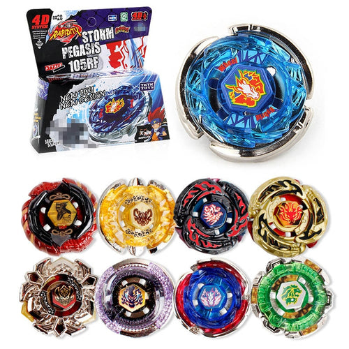 Beyblade burst Bayblade Metal Fusion 4D Beyblade Launcher Spinning Top Bey blade blades Toys Christmas Gift toys for Children #B
