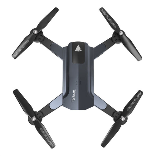 F196 Mini Foldable RC Drone with 2MP HD Camera Rc Helicopter Optical Flow Localization 20mins Long Flight Time Quadcopter (Grey)