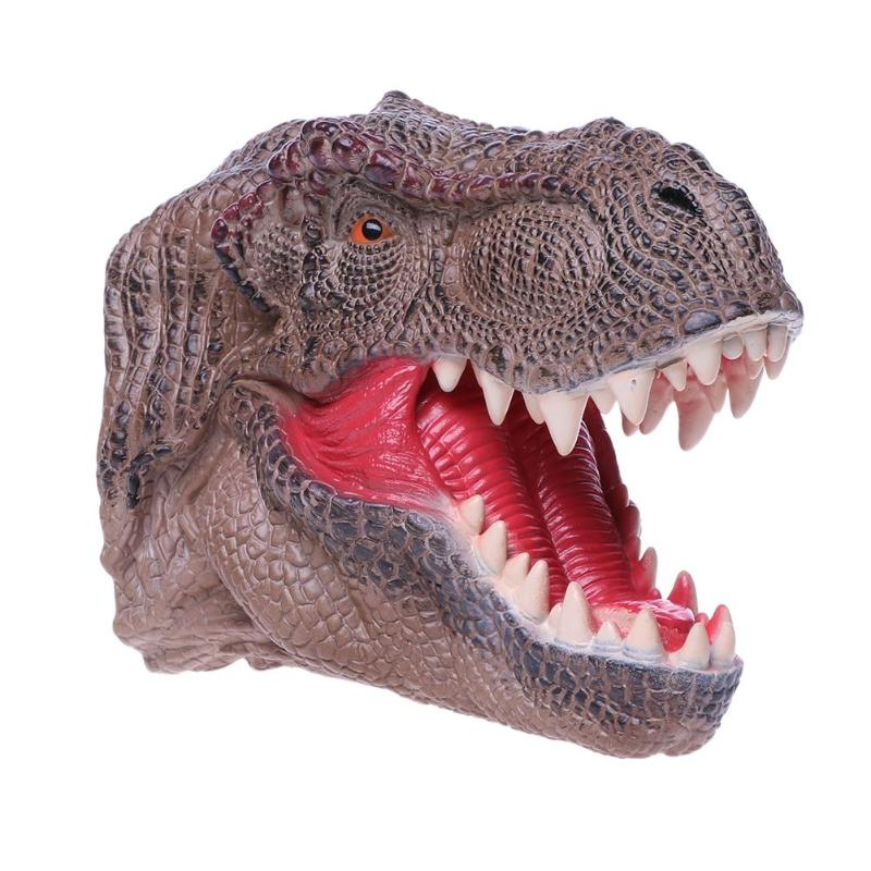 Simulation Dinosaur Hand Puppet Model Toys Environmental Protection Kid Toy Gift Funy Palying Puppets Toys for Baby Gifts - Stuff Mart Canada