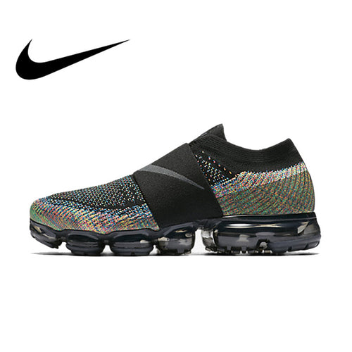 Original Authentic Nike Women Shoes Air Vapor Max FlyLine Rainbow Cushion Cushion Comfortable Running Shoes Sport Outdoor AA4155