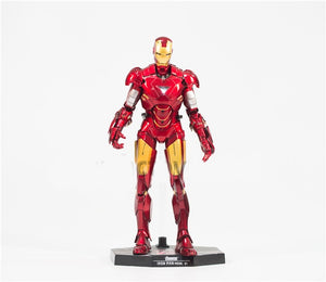 28cm Marvel Avengers Iron Man Action Figure MK6 Posture Model Anime Decoration Collection Figurine Toys model For Fans Gift