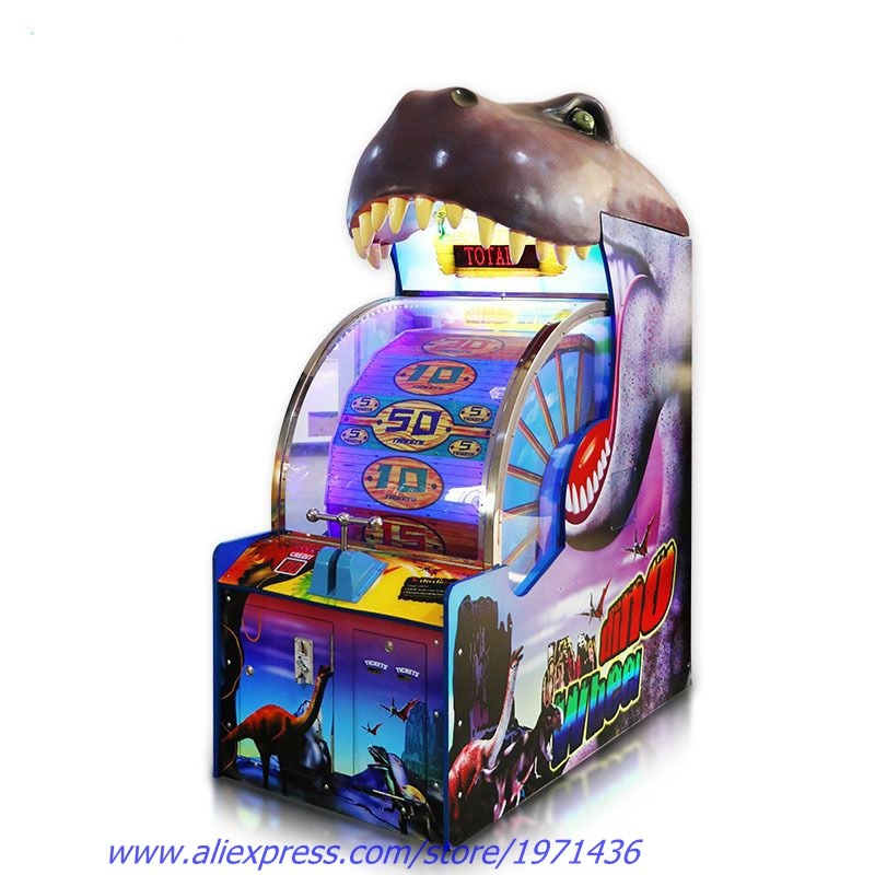 Amusement Equipment Dinosaur Prize Ticket Redemption Games Token Coin Operated Arcade Game Machine - Stuff Mart Canada