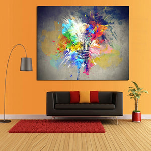 Best Wall Art Pictures Canvas Light Colorful oil Painting Large Abstract Handmade Oil Painting for Living Room Bedroom Decor