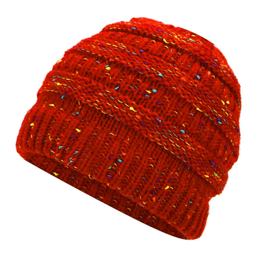 2956edf9066 2018 Winter Hats for Women New Beanies Knitted Solid Cute Hat Girls ...
