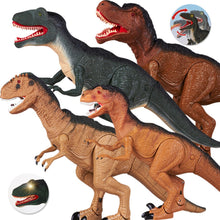 Load image into Gallery viewer, Dinosaur Electronic Toy Moving & Walking Sounds & Chomping Mouth LED Light Up - Stuff Mart Canada
