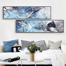 Load image into Gallery viewer, 100%handmade oil Paintings on Canvas Modern Abstract line painting art Wall Picture Home Decor Living Room