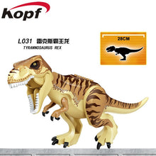 Load image into Gallery viewer, Legoingly Blue Carnotarus Tyrannosaurus Rex The Dinosaur Movie Action Figures World Park Building Blocks Children Toys KF817 - Stuff Mart Canada