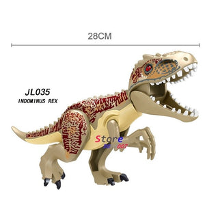 1/Set Jurassic World Fallen Kingdom Carnotaurus & Interbreed Velociraptor Movie Dinosaur Building Blocks toy for children - Stuff Mart Canada