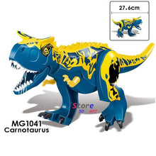 Load image into Gallery viewer, 1/Set Jurassic World Fallen Kingdom Carnotaurus & Interbreed Velociraptor Movie Dinosaur Building Blocks toy for children - Stuff Mart Canada