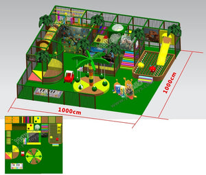 high quality indoor Dinosaur Paradise playground,customized kids soft play structure - Stuff Mart Canada