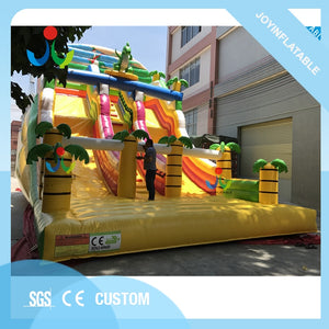 Huge Animal Dinosaur Inflatable Kids Dry Slide with Tree for Sale - Stuff Mart Canada