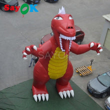 Load image into Gallery viewer, High Quality PVC Tarpaulin Inflatable Godzilla Inflatable Dinosaur 7.5m H for Theme Park Square Amusement Park Shopping Center - Stuff Mart Canada