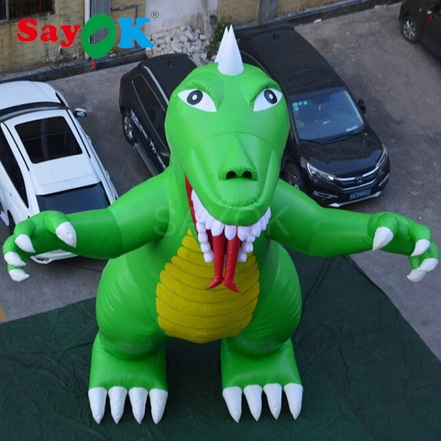 High Quality PVC Tarpaulin Inflatable Godzilla Inflatable Dinosaur 7.5m H for Theme Park Square Amusement Park Shopping Center - Stuff Mart Canada