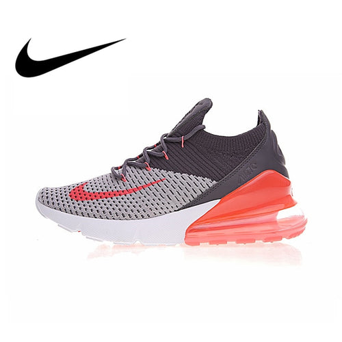 7e05b006e1971 Original Authentic Nike Air Max 270 Flyknit Women s Running Shoes Sport  Outdoor Sneakers Comfortable Durable Breathable