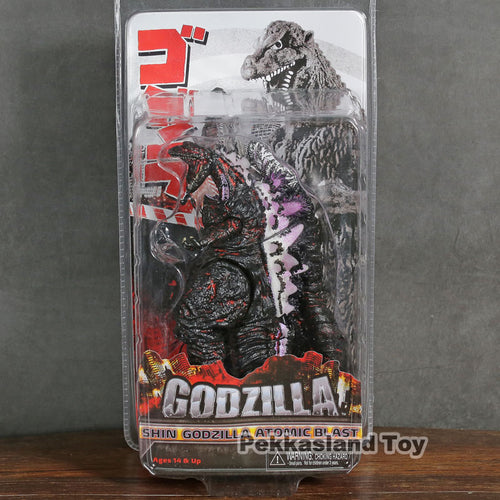 New 2016 Shin Newclear Godzilla Action Figure model Japan movie version Dinosaur monster doll toy movable ornaments NECA