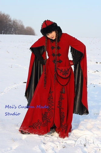 Custom Made Medieval Fantasy Winter Costume