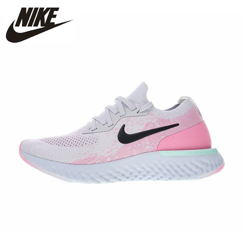 Nike EPIC REACT FLYKNIT Women's Running Shoes Breathable Outdoor Sport Shoes Comfortable Lightweight Sneakers   #AQ0070