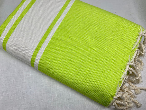 Chartreuse Flat Fouta