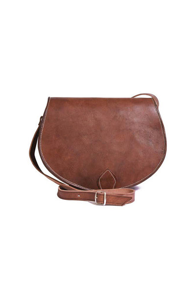 Ingrid Brown Leather Bag