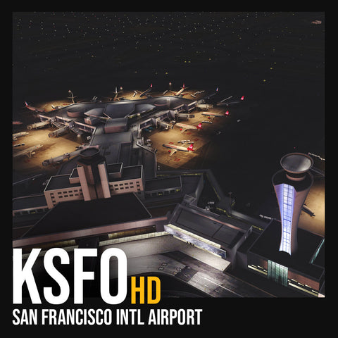 Flightbeam KSFOHD