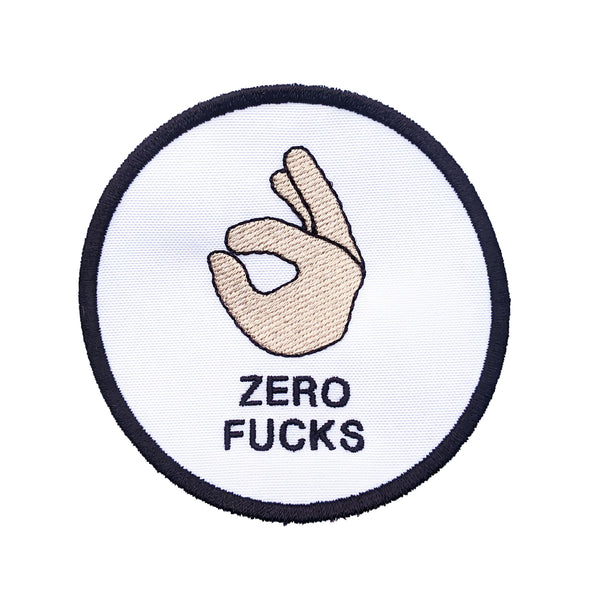 ZERO FUCKS PATCH