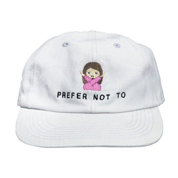 PREFER NOT TO HAT
