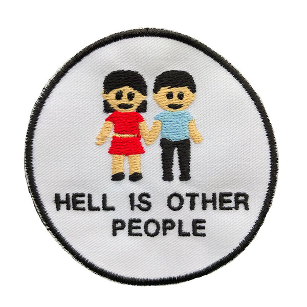HELL IS OTHER PEOPLE PATCH