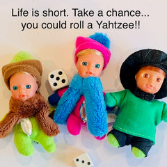Take a chance! Buy Stork Babies  - matchbox dolls