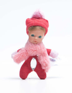 *3 - Delilah - The Diamond Collection - Adorable bean baby doll - Stork Babies - beautiful handcrafted dolls