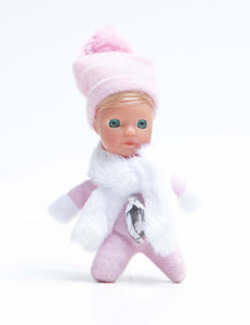 Adorable Baby Matchbox Doll for Girls – Charlotte – The Diamond Collection - Stork Babies - beautiful handcrafted dolls