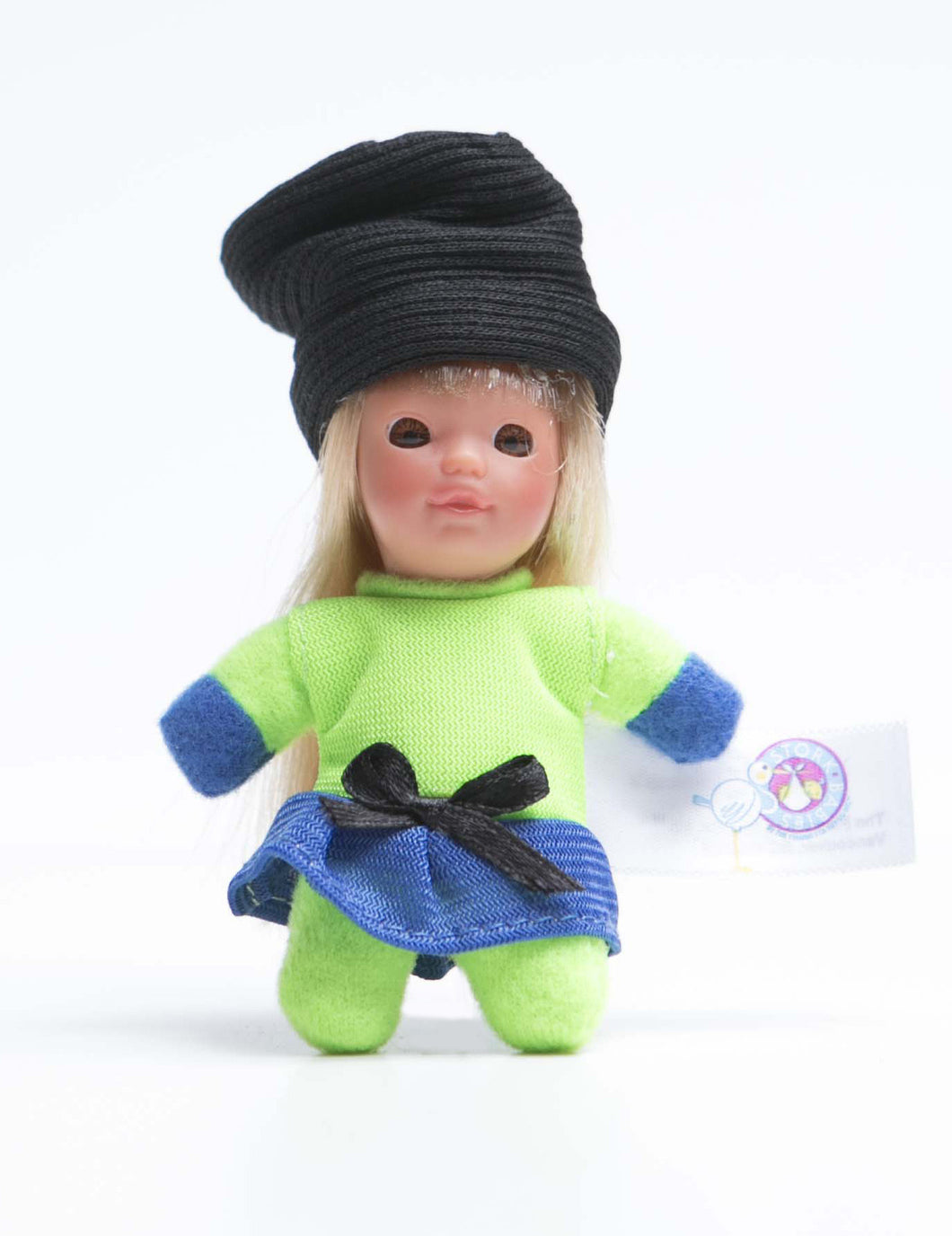 # 5 - Genevieve - The French Collection - Cute small baby doll - Stork Babies - beautiful handcrafted dolls