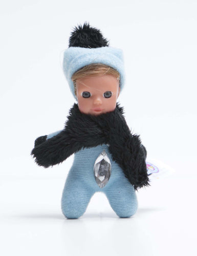 *6 - Quinn - The Diamond Collection - Adorable bean baby doll - Stork Babies - beautiful handcrafted dolls