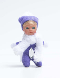 *7 - Lizzy - The Diamond Collection - Adorable bean baby doll - Stork Babies - beautiful handcrafted dolls