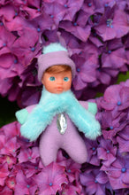 Adorable Baby Matchbox Doll for Girls – Anna – The Diamond Collection - Stork Babies - beautiful handcrafted dolls