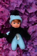 Adorable Baby Matchbox Doll for Girls – Quinn – The Diamond Collection - Stork Babies - beautiful handcrafted dolls
